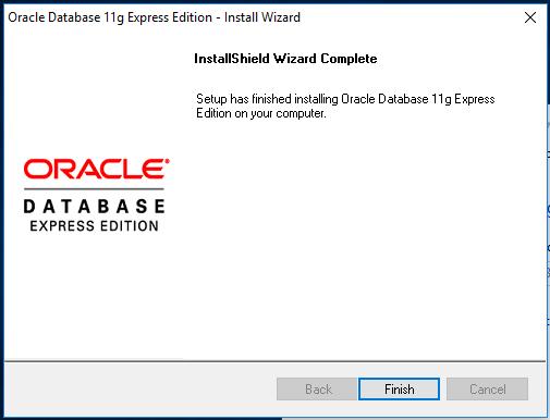 Installing Oracle Database on Windows 10 – OnData blog